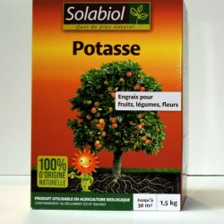 Potasse organique 1,5kg