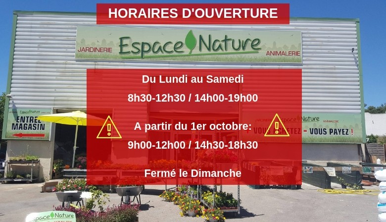 horaires hiver